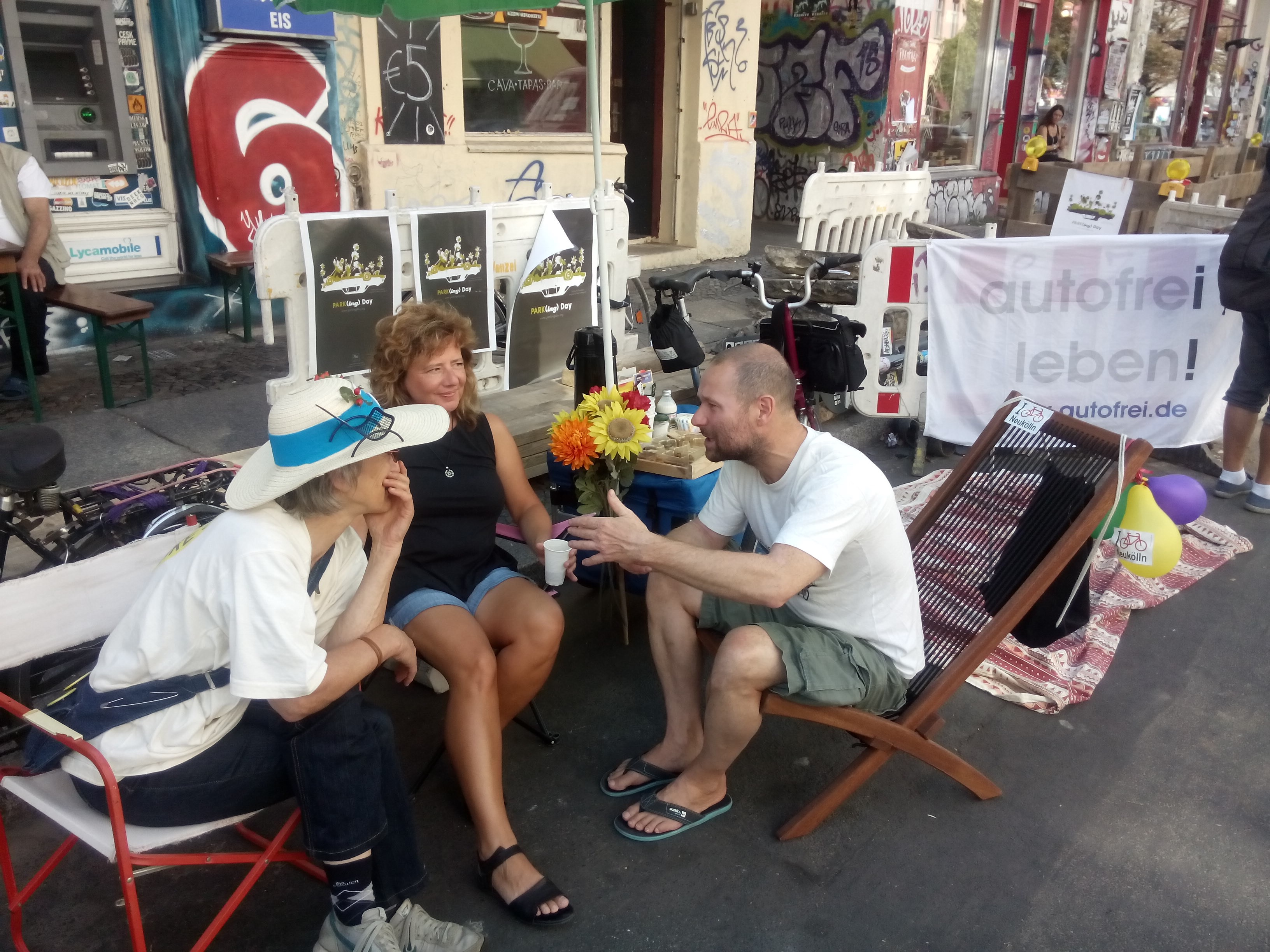 PARK(ing)Day 2016 in Berlin